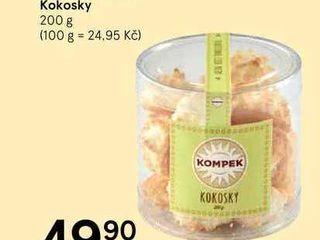 Kokosky, 200g