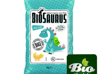 SNACK BIO BIOSAURUS 50g, 3 druhy