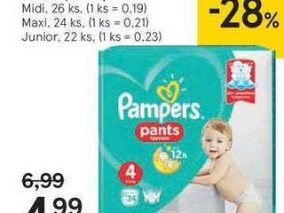 Pampers Pants Carry pack detské plienky