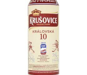 Obrázok Krušovice Královská 10 svetlé výčapné pivo 0,5 l plech