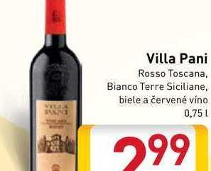 Obrázok Villa Pani 0,75 l