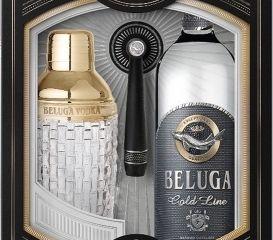 Obrázok Beluga Gold Line 40% 0,70 L + Shaker