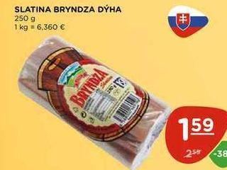 SLATINA BRYNDZA DÝHA 250 g