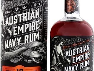 Obrázok Austrian Empire Navy Rum Solera 18YO 40% 0,70 L