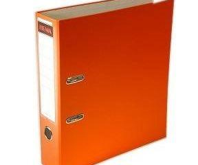 Šanón/zakladač A4/8cm pákový oranžový SIGMA 1ks
