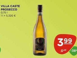VILLA CASTE PROSECCO 0,75 l
