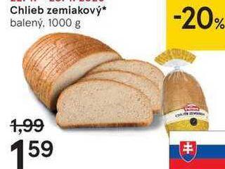 Chlieb zemiakový, 1000 g