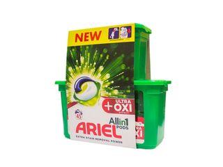 Obrázok Ariel Ultra OXI All in 1 gélové kapsuly 1x45 ks