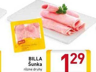 Obrázok BILLA Šunka 100 g