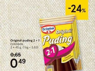 Originál puding, 3 x 45 g