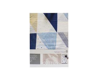 Obliečka krepová úprava Gots 140x220 cm modrá Tarrington House 1ks