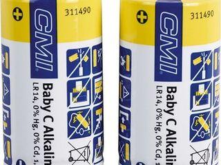 Obrázok CMI Sada batérií Alkaline Baby C, 2 ks