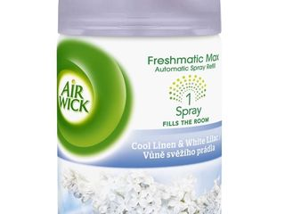 Air wick Vôňa sviežeho prádla náhradná náplň do osviežovača 1x250ml