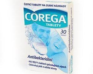 Obrázok Corega antibakteriálne tablety 1x30 ks