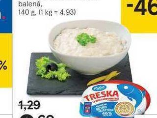 Treska treskoslovenská, 140 g