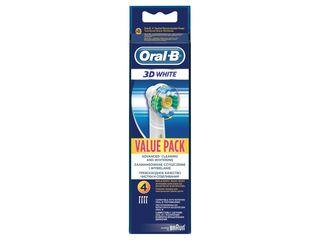 Oral-B 3D white náhradné čistiace hlavice 1x4 ks