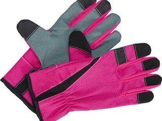 Floristické rukavice ružové veľkosť 7