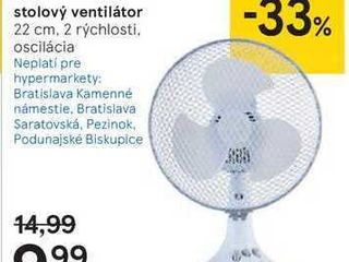 Tesco DF918W stolový ventilátor