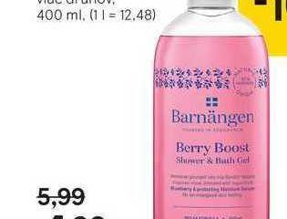 Barnangen sprchovací gél, 400 ml