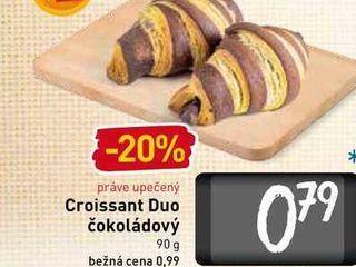 Obrázok  Croissant Duo čokoládový 90 g