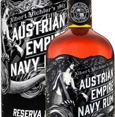 Obrázok Austrian Empire Navy Rum Reserva 1863 40% 0,70 L