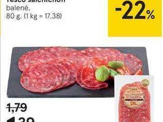 Tesco salchichon, 80 g