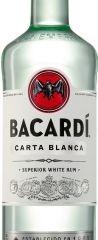 Obrázok Bacardi Carta Blanca 37,5% 1,00 L
