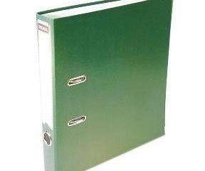 Šanón/zakladač A4/5cm pákový zelený SIGMA 1ks