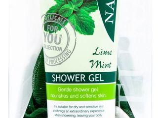 Naturalis Body&Spirit Lime sprchový gél 250ml + telový peeling 300 g