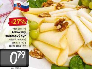 Obrázok  Tekovský salámový syr  100 g