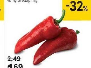 Paprika kapia červená, 1 kg