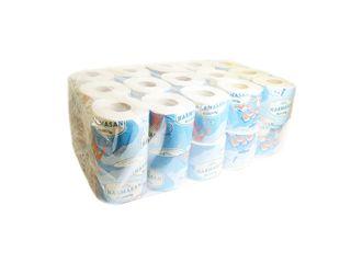 Obrázok Harmasan Mýval Toaletný papier 1-vrst. 400 útržkov 1x30 ks