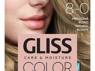 Schwarzkopf Gliss Color farba na vlasy 8-0 prirodzená blond 1x1 ks