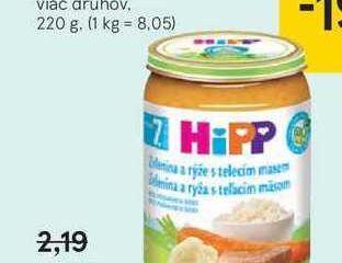 Hipp mäsovo-zeleninový príkrm, 220 g
