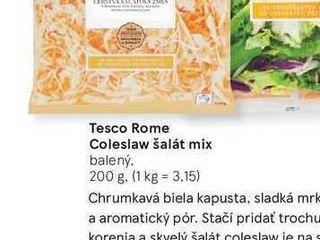 Tesco Rome Coleslaw šalát mix, 200 g