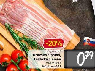 Obrázok  Oravská slanina 100 g