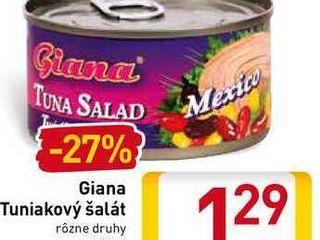 Giana Tuniakový šalát  185 g