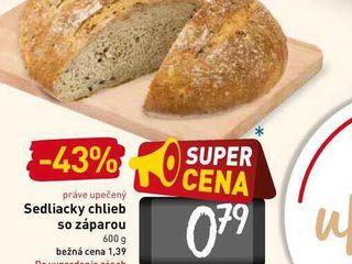 Sedliacky chlieb so záparou 600 g