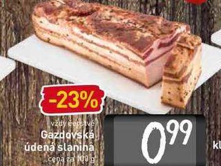 Gazdovská údená slanina 100 g