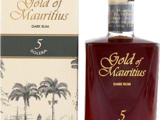 Gold of Mauritius Solera 5YO 40% 0,70 L