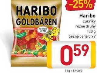 Obrázok HARIBO GOLDBÄREN   100 g