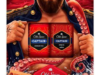 Old Spice Captain deodorant stick + sprchový gél 250 ml