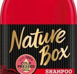 Nature box Pomegranate Oil šampón na vlasy 1x385 ml