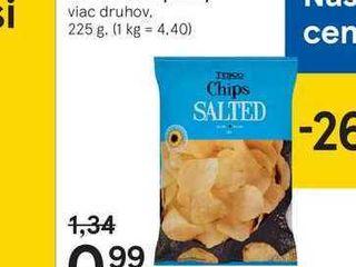 Tesco smažené zemiakové Iupienky, 225 g