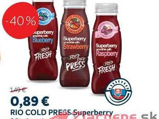 RIO COLD PRESS Superberry, 0,2 l