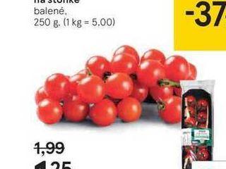 TS paradajky cherry na stonke, 250 g