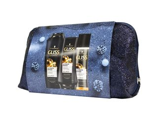 Schwarzkopf Gliss Ultimate Repair šampón + balzam + kondicionér + taška