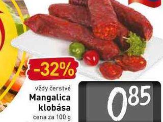Mangalica klobása  100 g