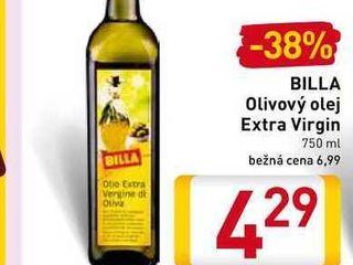 BILLA Olivový olej Extra Virgin 750 ml