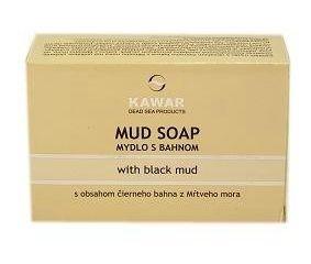 Kawar mydlo s čiernym bahnom 1x120 g